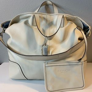 Coach Hadley large leather duffle